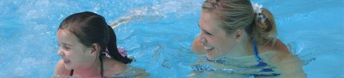 me swim header